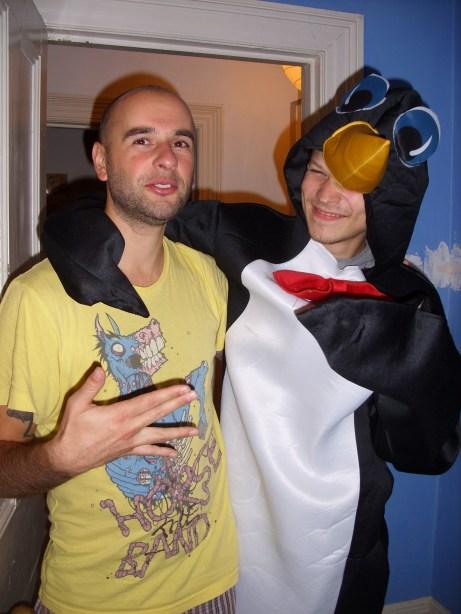 Party s tučniakom