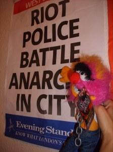 Nepokoje v meste