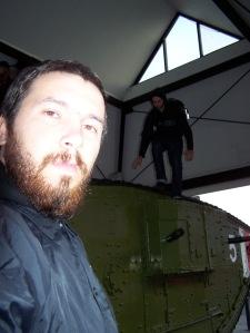 Tank póza 7